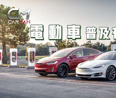 電動車|2035年全面推行電動車 探討全港充電位現況 拉線問題或未做到街泊充電 | 蘋果日報