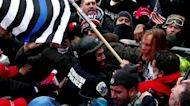 Tear gas, violence in 'insurrection' at U.S. Capitol