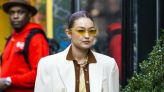 Gigi Hadid Wore So Many Fall Trends Under One Chic Coat