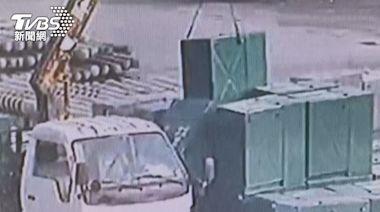 工安意外!台電包商工人 遭600公斤電箱壓死│TVBS新聞網