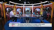 Player you trust to make a play when needed most 'GMFB'