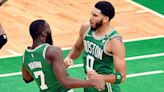 Brown, with inhaler at ready, in Celtics' lineup
