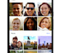 This product image provided by Google shows a feature of the Google Photos mobile app that allows users to search for photos by people or places. Google's new service for organizing and backing up ...