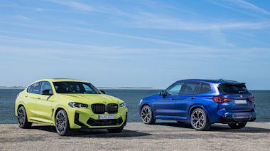 百公里加速 3.8 秒輕鬆寫意!BMW 發表小改款 X3 / X4 M Competition