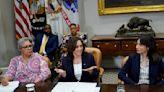 Essential Politics: Failure of elections bill shows limits of Kamala Harris' influence