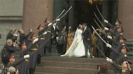 影/俄百年來首場皇室婚 沙皇後裔大婚1500人見證