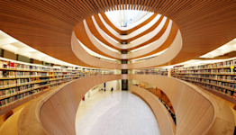 The World's Most Hated Architect Created One Hell of a Library