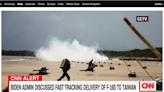 CNN:中國侵犯台灣機率雖低 但兩岸發展危險加深   國際   Newtalk新聞