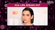 Dua Lipa Slams 'Appalling' Ad Accusing Her and Hadids of Anti-Semitism for Supporting Palestinians