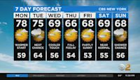New York Weather: CBS2 9/26 Nightly Forecast at 11PM