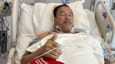 Arnold Schwarzenegger says he feels 'fantastic' as he recovers from heart surgery