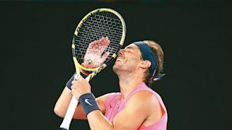 網球/納達爾領銜 西班牙擬自辦比賽