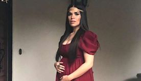 Pregnant America Ferrera Pays Tribute to 'Warrior Ancestors' in Red Gown for 2020 Oscars