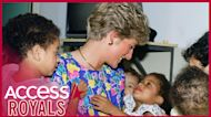 Princess Diana Always Loved Spending Time With Children and Visiting Charities