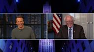 Bernie Sanders Reacts to Viral Inauguration Memes | THR News