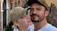 Orlando Bloom & Katy Perry Share 'Good Luck' Kiss Under Bridge in Italy