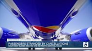 Southwest Airlines flight cancellations continue into Monday