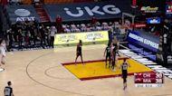 Tomas Satoransky with an and one vs the Miami Heat