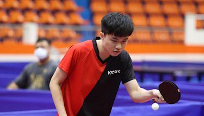 林昀儒男單決賽打1球就稱王 本屆共進帳3金1銀