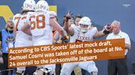 CBS Sports 2021 NFL Mock Draft: Texas OL Samuel Cosmi heads to Jacksonville in round one