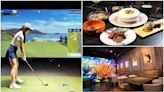 【新開店】1桿進洞送100萬!全台首家高爾夫餐酒館,挑戰84座世界級實境球場