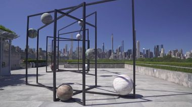 Art Under the Sun: Planets on the roof of the Met