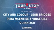 Tour Stop: City And Colour - Leon Bridges, Reba McEntire & Vince Gill, Quinn XCII