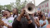 Second lines return to New Orleans; dancers and performers resume Sunday tradition
