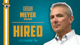 Jags officially name Urban Meyer their new HC