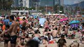 Verano en Europa: insólito método de turista para protegerse del Covid