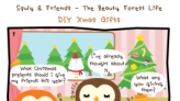 Squly & Friends - The Beauty Forest Life ☺️ :DIY Xmas ...