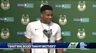 Bucks players excited to get NBA Championship rings