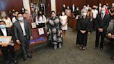 25 become U.S. citizens at a naturalization ceremony at Erie Federal Courthouse