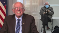 Bernie Sanders reveals the maker of his viral meme mittens is 'overwhelmed' by attention