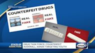 Drug task force: Counterfeit Adderall, Xanax targeting youth