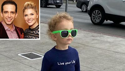 Amanda Kloots' Son Elvis, 2, Honors Late Dad Nick Cordero in Live Your Life Sweater: Photo