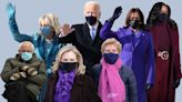 Jill Biden and Kamala Harris Dressed Regally at the Inauguration. And Bernie Sanders' Mittens Rocked.