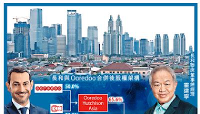 長和Ooredoo合併印尼電訊業務
