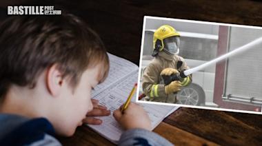 兒子「我的志願」作文寫消防員 被外婆擦掉重作港爸嘆不尊重 | 社會事
