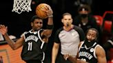Nets say 'positive' contract talks with Harden, Irving