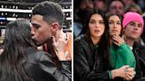 Kendall kisses boyfriend Devin at basketball game in rare PDA pics