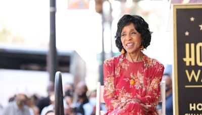 Marla Gibbs Almost Fainted During Hollywood Walk Of Fame Ceremony