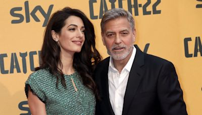 George Clooney jokes wife Amal watching 'ER' reruns has been 'a disaster for my marriage'