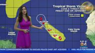 Tracking Hurricane Sam and Tropical Storm Victor
