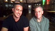 'Chicago Fire' stars Taylor Kinney and David Eigenberg celebrate 200th episode