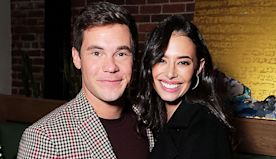 Adam Devine Engaged To Actress Chloe Bridges After 4 Years Of Dating — See Her Gorgeous Diamond Ring