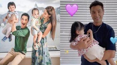 TVB藝人的父親節是怎樣度過的?黎諾懿與「八個」女兒一起歡度