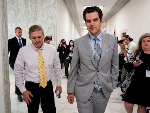 Newsmax turned down embattled Republican Matt Gaetz for a job -spokesperson