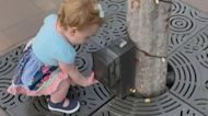 1-year-old girl goes viral for thinking everything is a hand-sanitizer dispenser