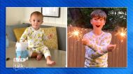The Talk - Iain Armitage on Twinning with Amanda Kloots Son in Lemon PJs